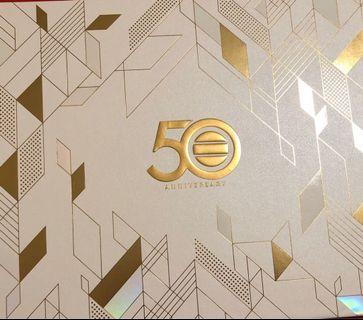 tvb 50周年紀念票(職員特別版)、港鐵狗年紀念票、港鐵雞年紀念票年紀念筷子一對