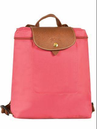 (100% Authentic) BN LONGCHAMP Le Pliage Backpack