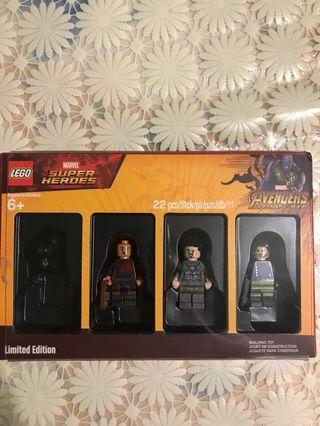 LEGO avengers endgame infinity tony stark Ironman wong winter solider limited edition