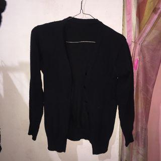 #mauthr cardigan hitam