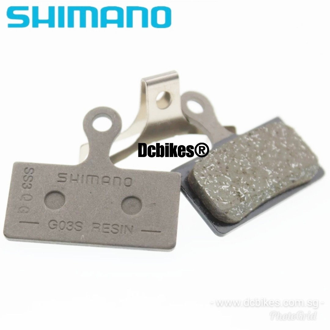 🆕! Shimano G03S Deore SLX XT XTR Resin Disc Brake Pads M6000 M7000 M8000  M9000 M9020 #Dcbikes ✳️ PRICE FOR 1 PAIR ✳️