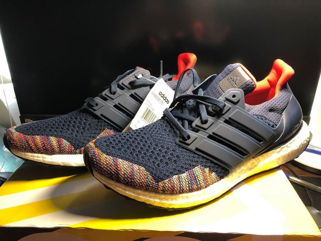 Adidas ultra boost 1.0 (Navy Multi-Colour)