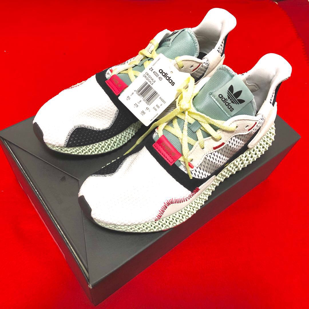 58bec781 Adidas ZX4000 4D, Men's Fashion, Footwear, Sneakers on Carousell