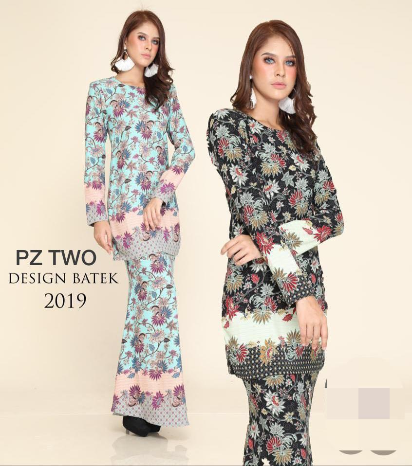 Paling Baru Design Baju Raya Kain Batik