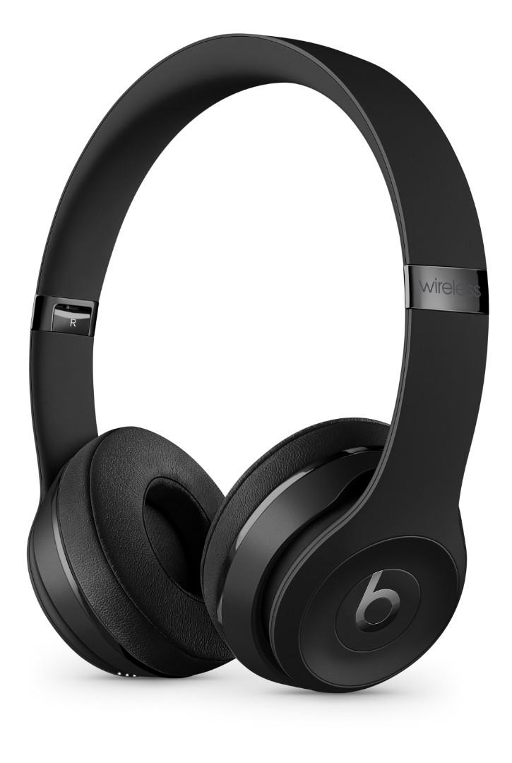 Beats by Dr. Dre Solo3 On-Ear Sound Isolating Bluetooth Headphones - Matte Black