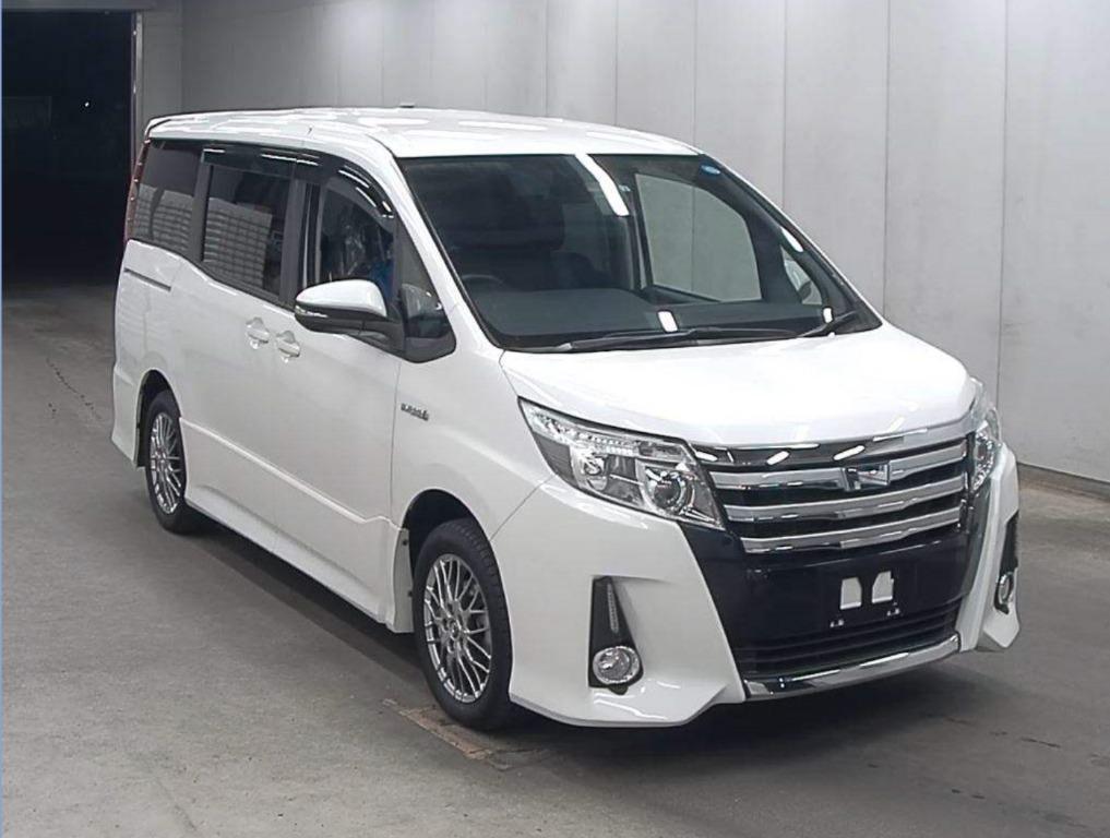 日本自己BID車服務 2016 Toyota Noah Si hybrid