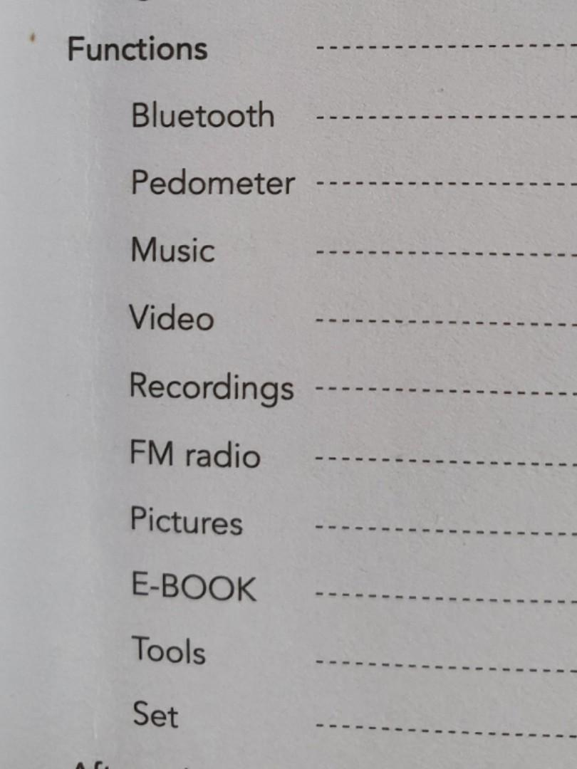 Bluetooth 4.0 MP3 Player ~ 8GB Memory
