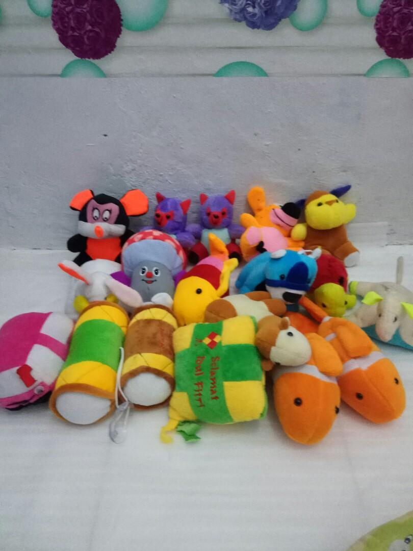 Boneka jepitan/boneka mini