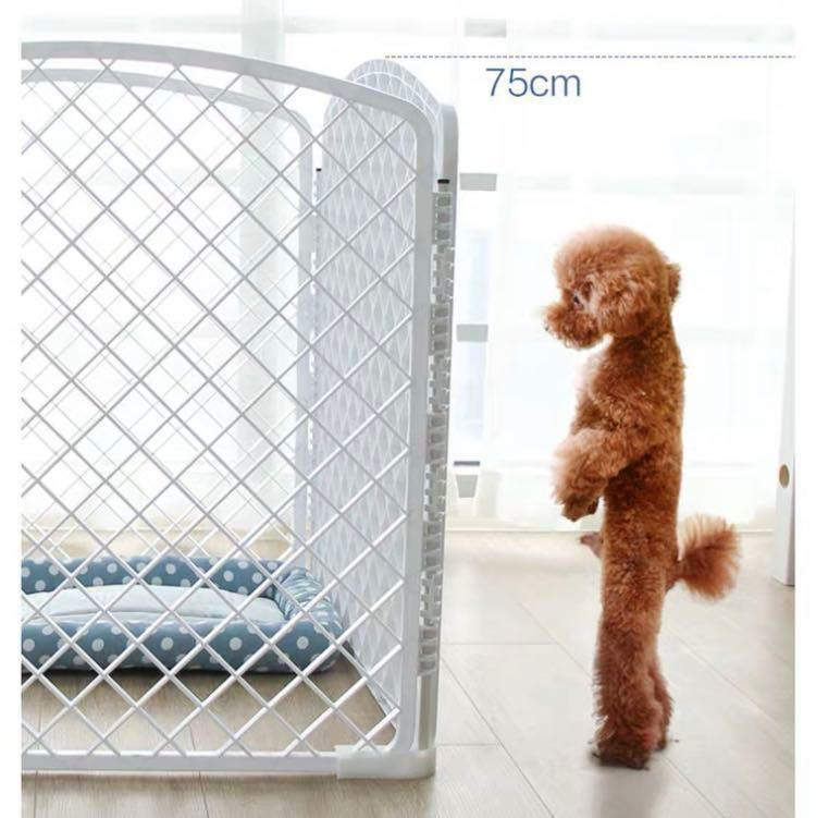 Ready Stock Brand New High Quality White Pet Fence / Pet Play Pen