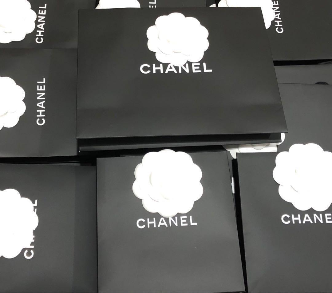 Chanel Shopping Carry Paper Bags - Various Sizes - Authentic
