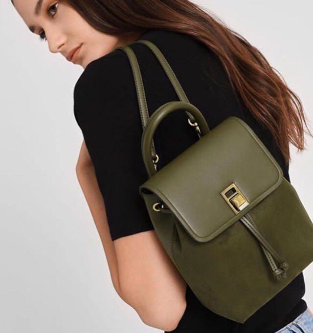 Charles and Keith Classic Backpack