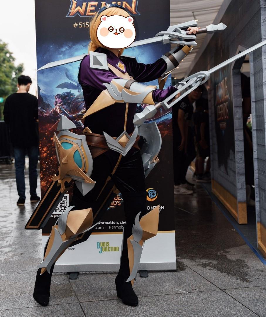 61 Gambar Cosplay Mobile Legends Terbaru
