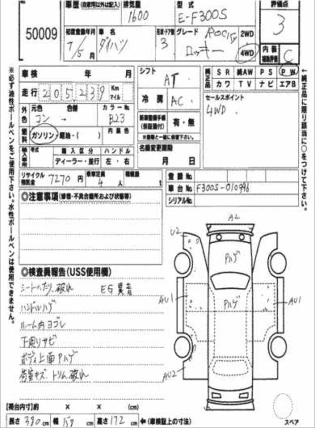 DAIHATSU ROCKY (價錢面議)