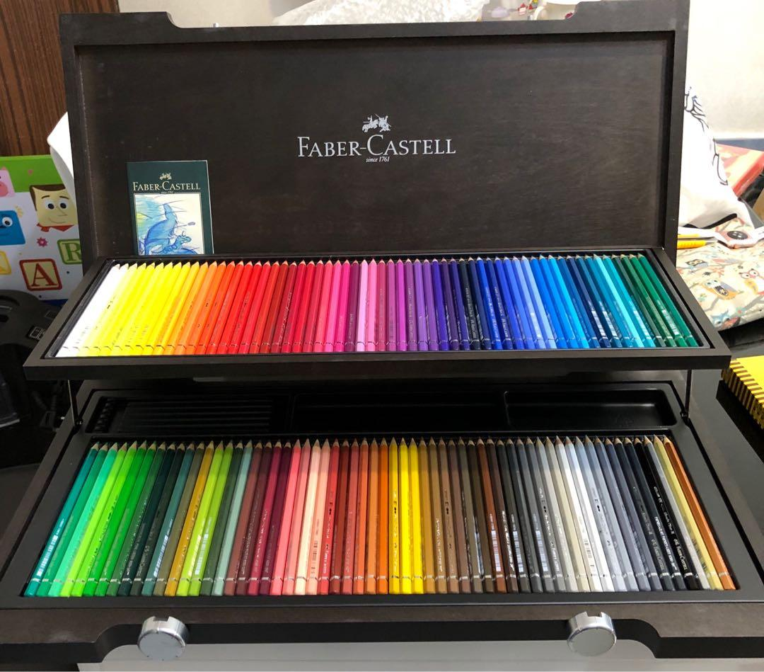 Faber-Castell watercolor pencil with wooden case