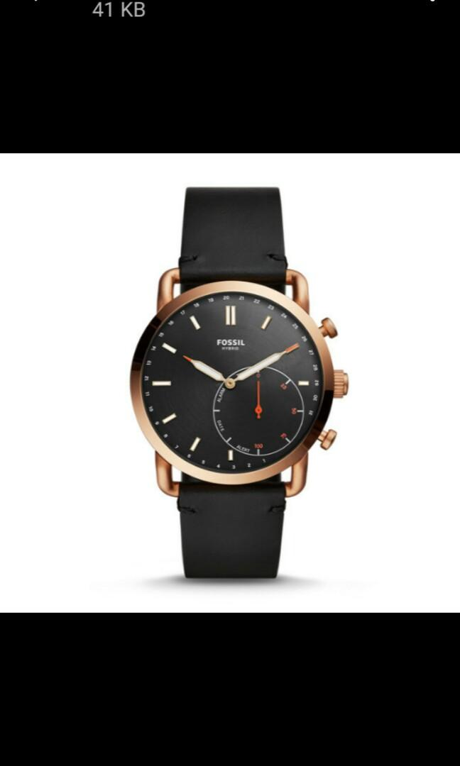 Fossil smartwatch hybird FTW1176,  masih segel, conected to apple or android