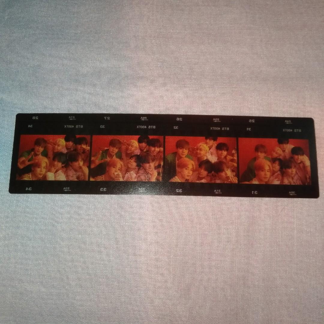 (FREE PHOTOFILM) Photocard/pc namjoon/rm dan Jin BTS Persona versi 2 dan 3