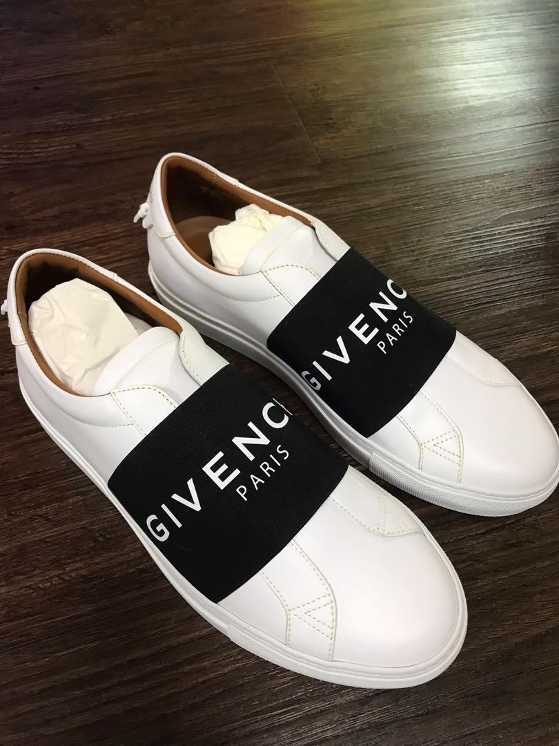 Givenchy Paris Strap Sneakers, Men's
