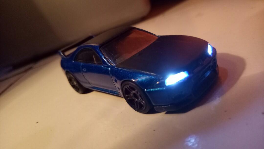 Hotwheel custom led tipe