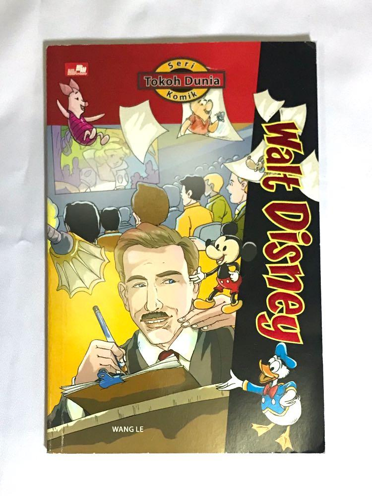 Komik Seri Tokoh Dunia Walt Disney #mauthr