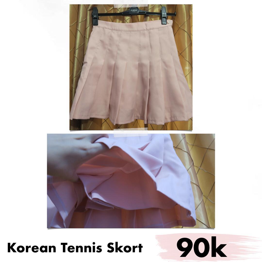 Korean tennis skort