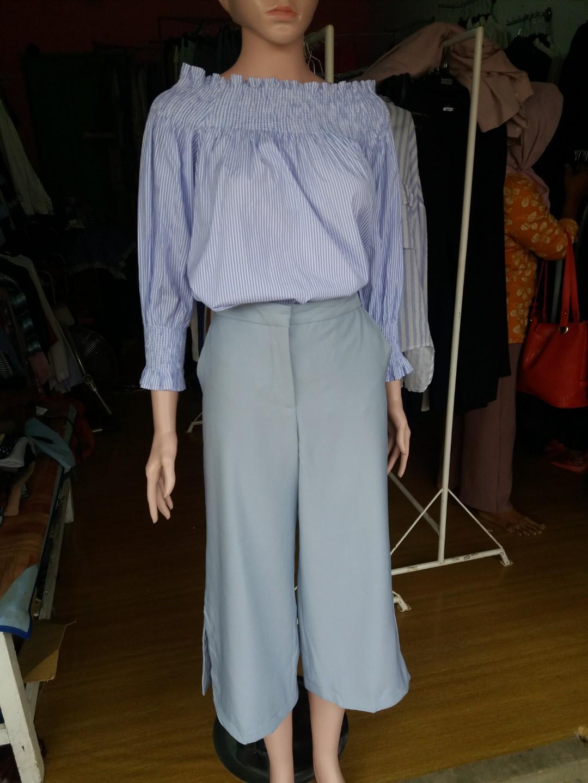 Kulot Zara & Blouse