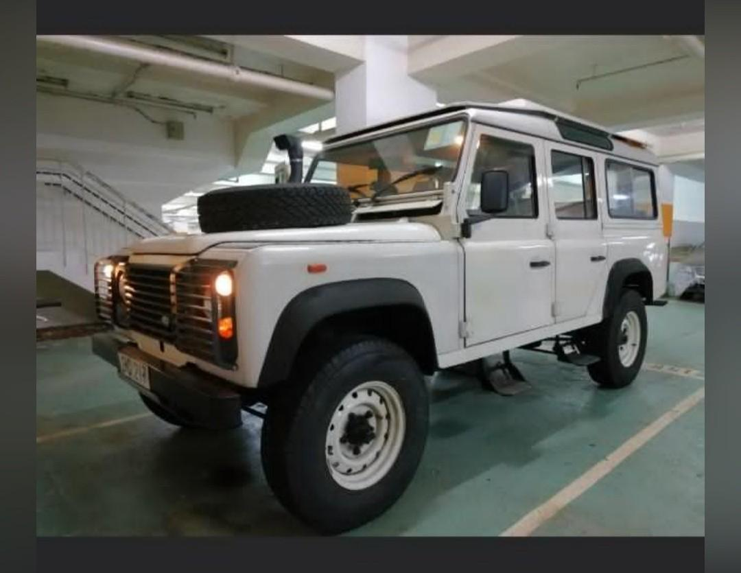 LAND ROVER DEFENDER 110 3.5 V8,
