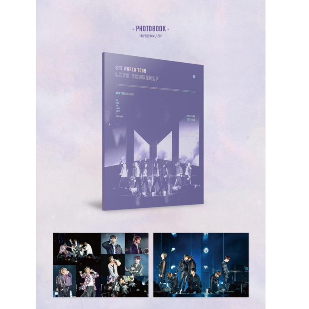 [LOOSE ITEM INTEREST CHECK] BTS LOVE YOURSELF IN NEW YORK & EUROPE BLU RAY PRE ORDER