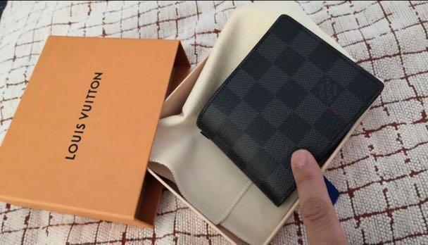 LV 男裝銀包short wallet