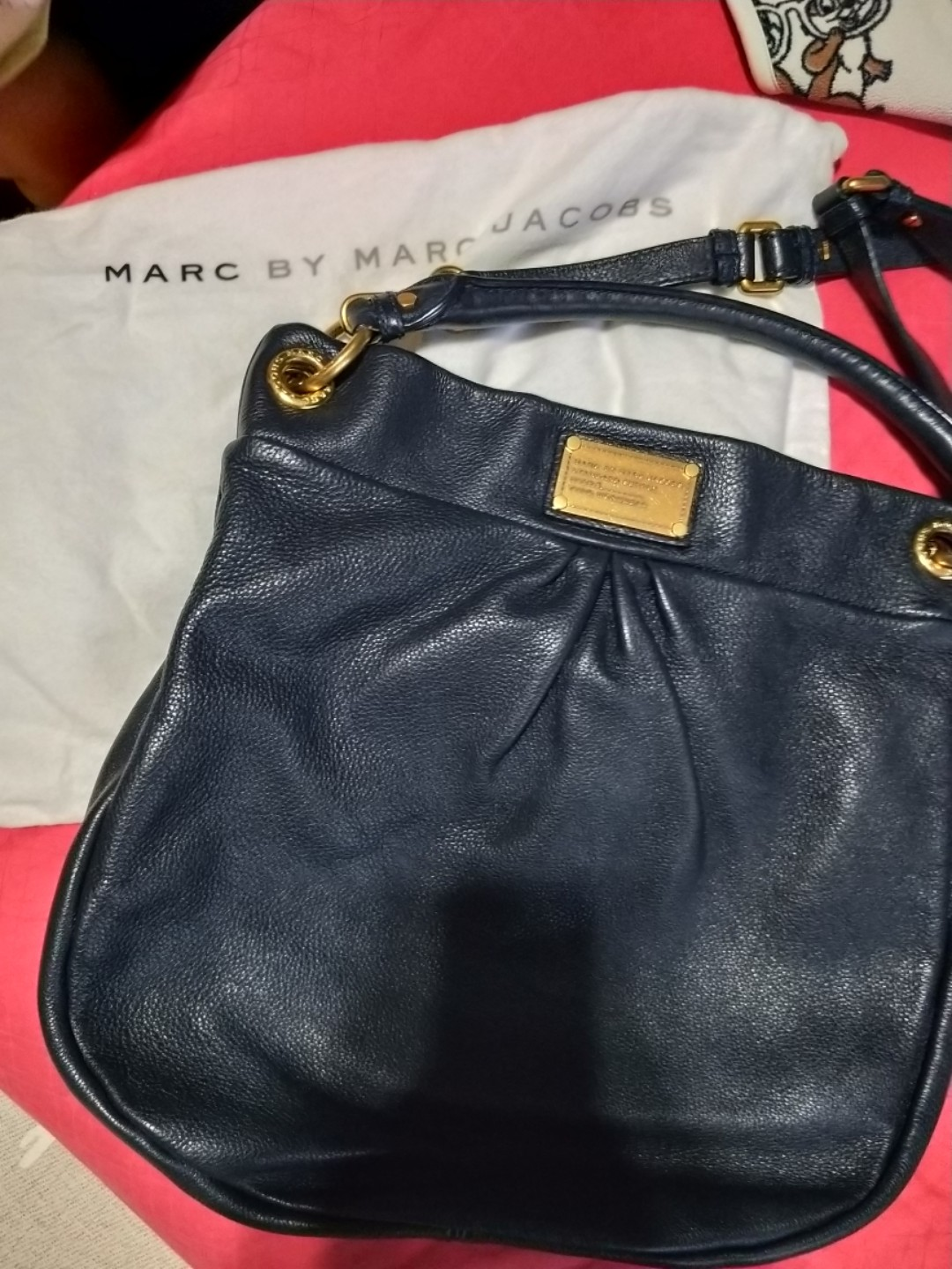 6d71849423c Marc Marc jacobs genuine leather crossbody tote bag, Luxury, Bags ...
