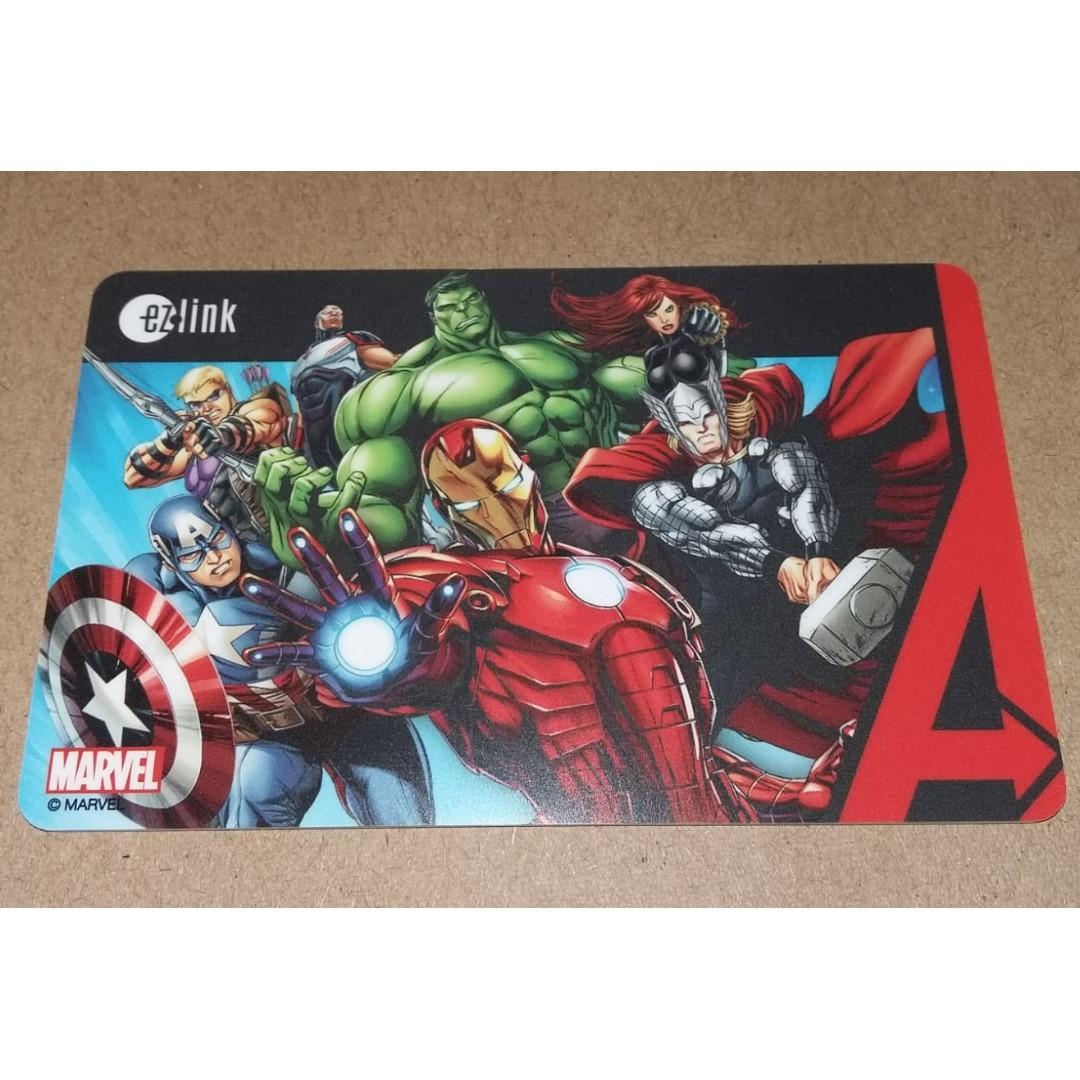 Marvel Avengers Animation (3rd in Series) ezlink card