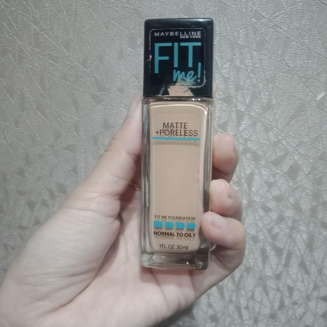 Maybelline Fit Me Shade 128 Matte Poreless