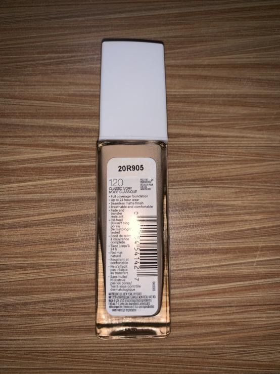 maybelline superstay foundation classic ivory