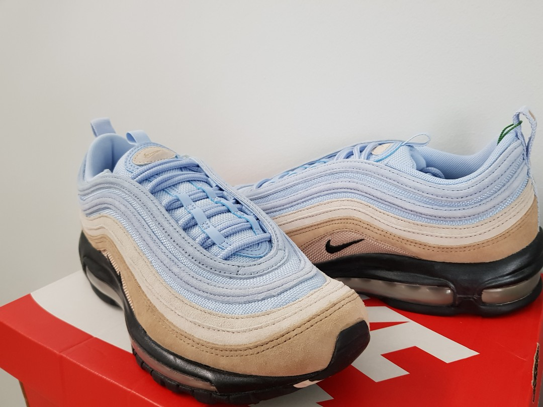 2fb3dc1f Nike Air Max 97 Desert Sky, Men's Fashion, Footwear, Sneakers on Carousell