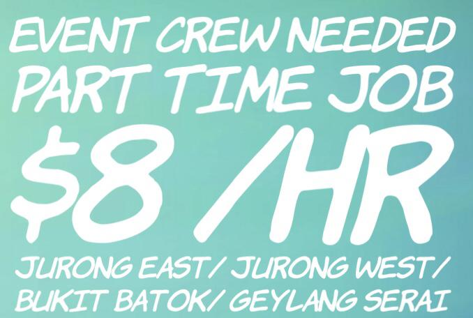 Part Time (Roadshow/ Event helpers)
