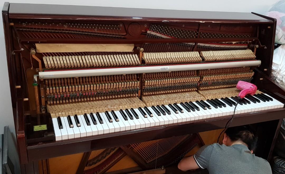 Piano - British - Challen