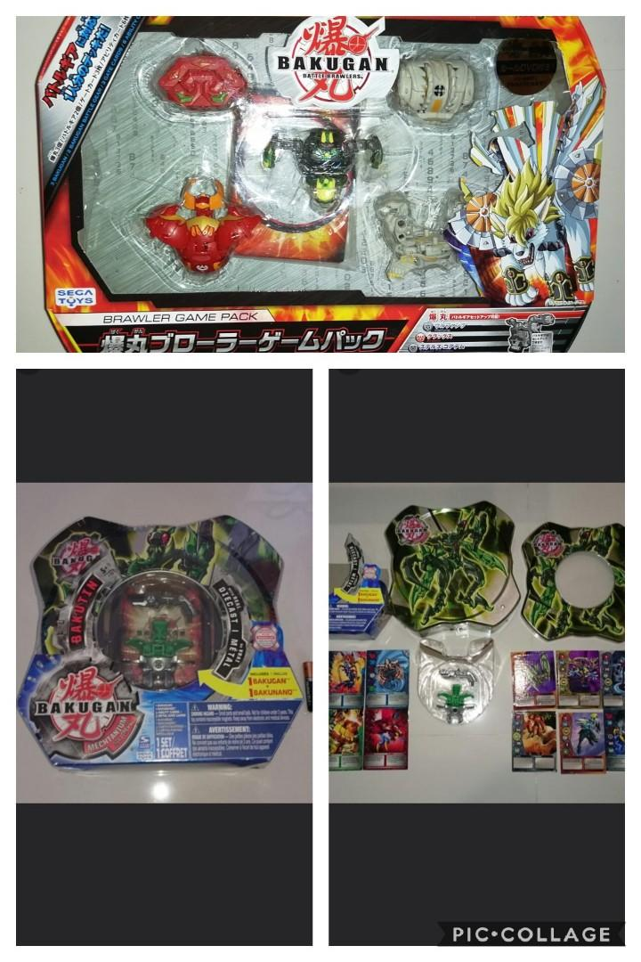 Rare new Bakugan lightning wolf Set  + bakugan mechtanium limited tin box set