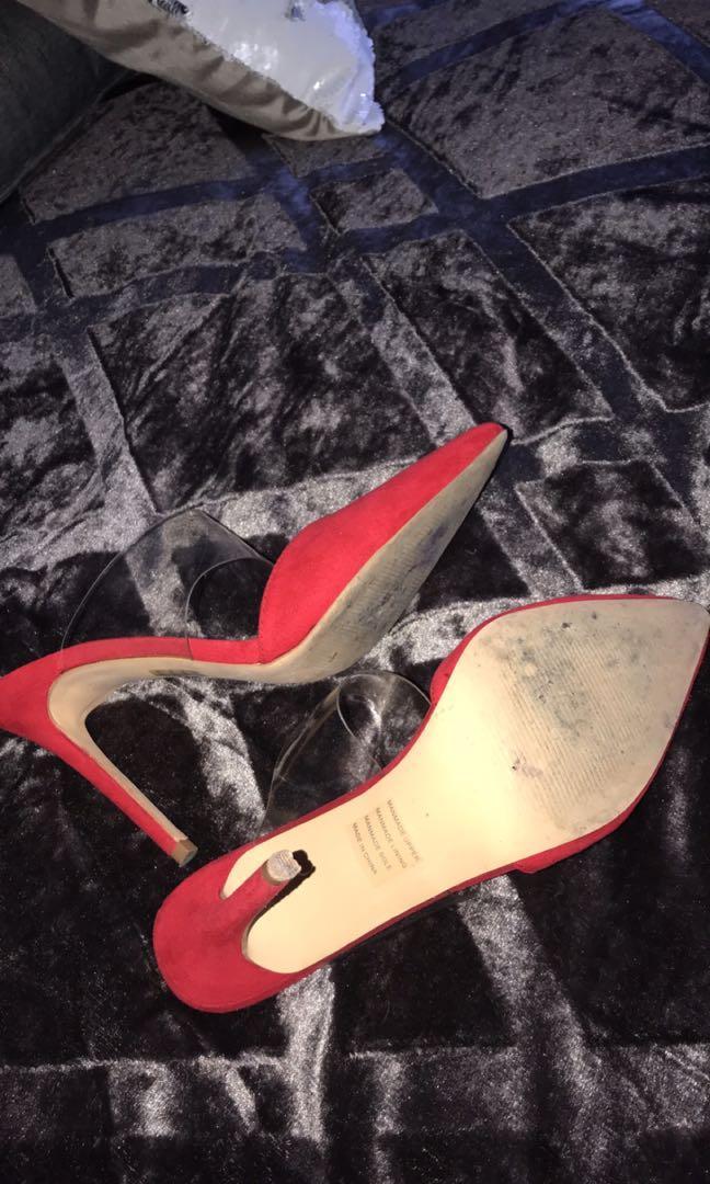 Red Novo Heels