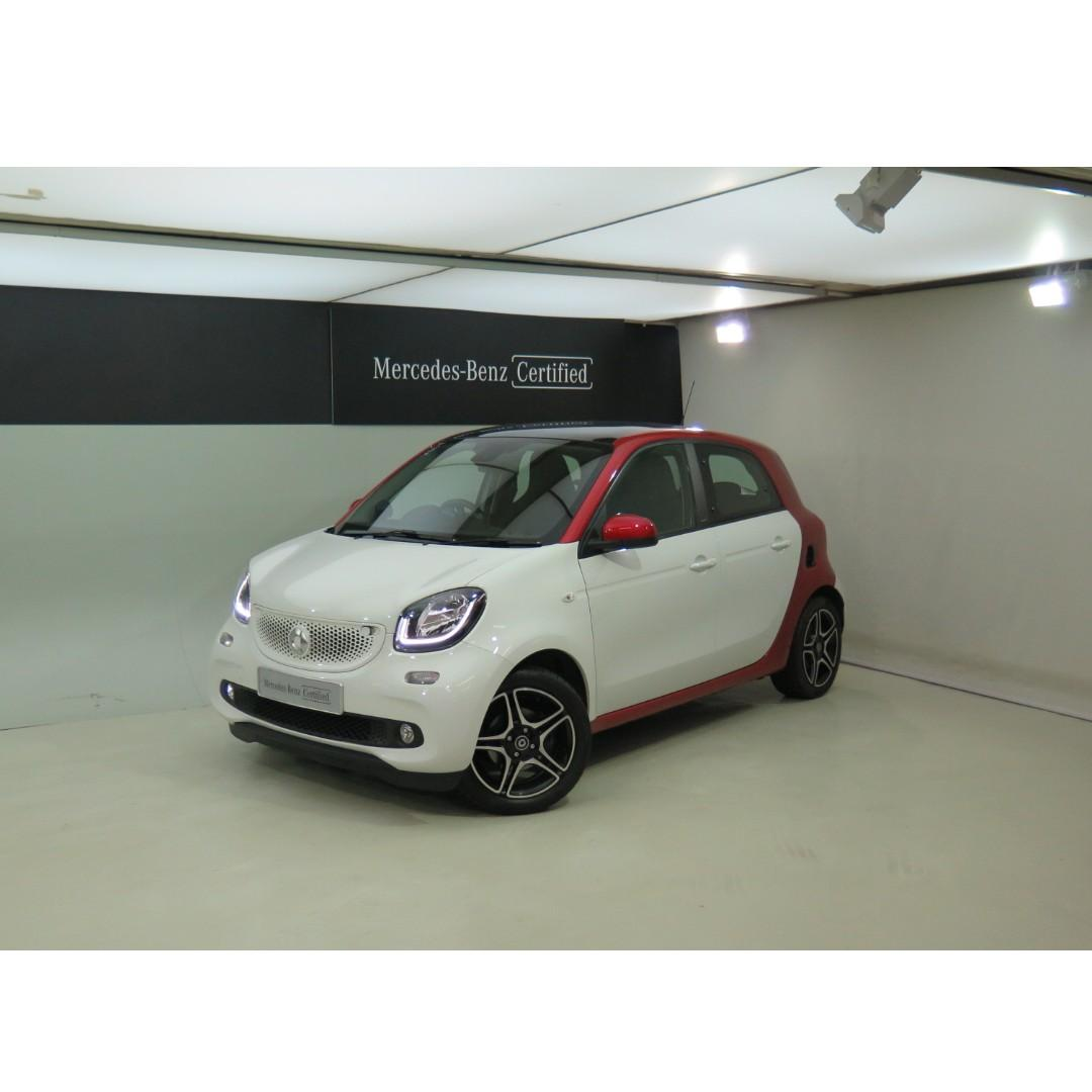 SMART forfour 66kW Turbo 2016/17'
