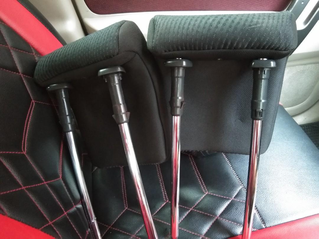 Sandaran kepala atau headrest Untuk sigra Jok belakang baris 3