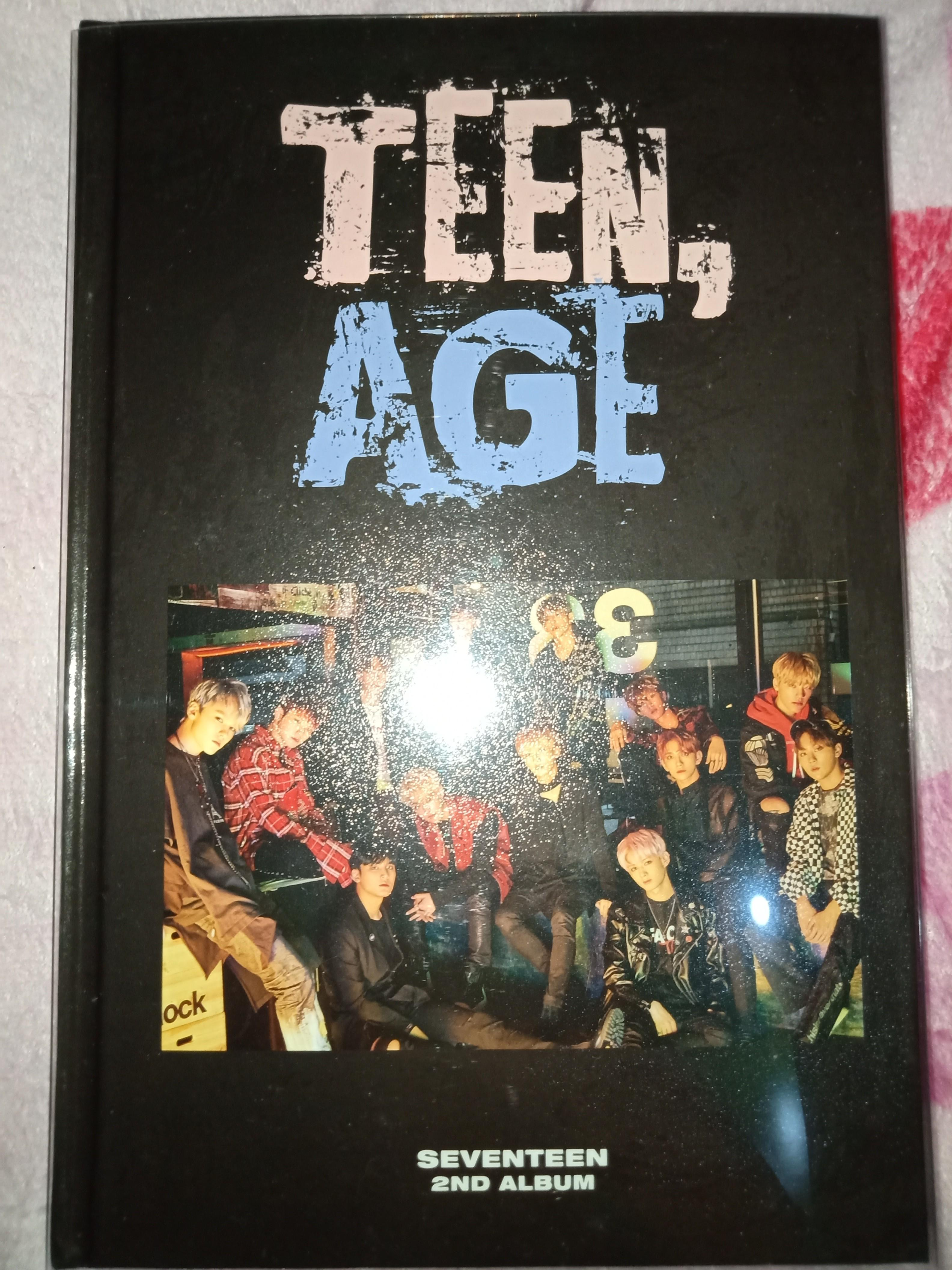 Seventeen Album Teen Age + POSTER AND FREE PHOTOCARD!