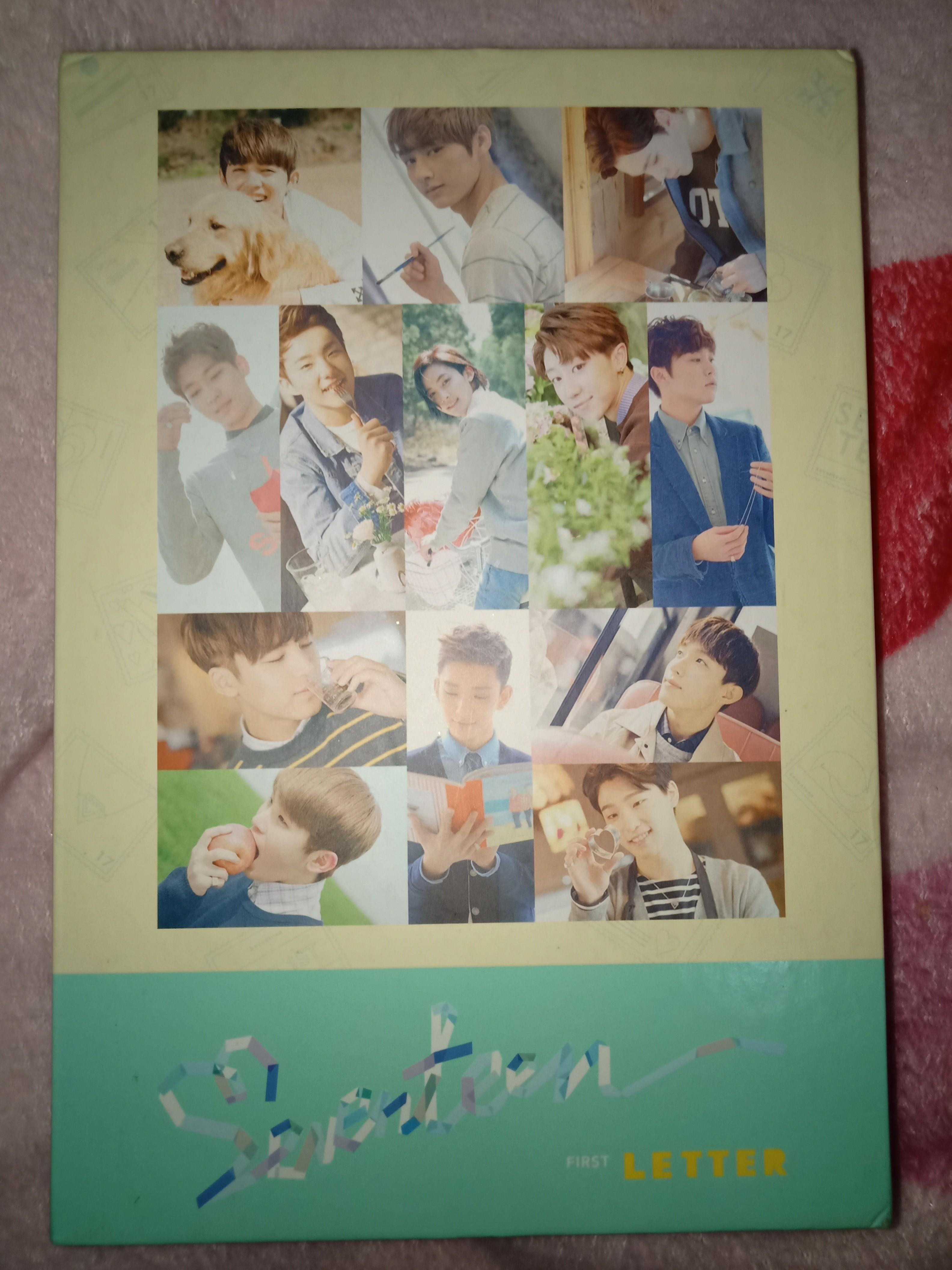 Seventeen Album Love and Letter (Letter Version) + POSTER AND FREE PHOTOCARD!