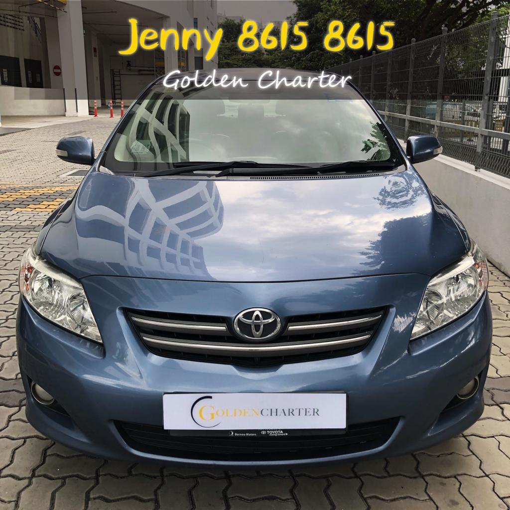 Toyota Altis 1.6a Rental cheap car 1.6a cheap car rental suitable for grab,gojel ,tada PHV n personal use.