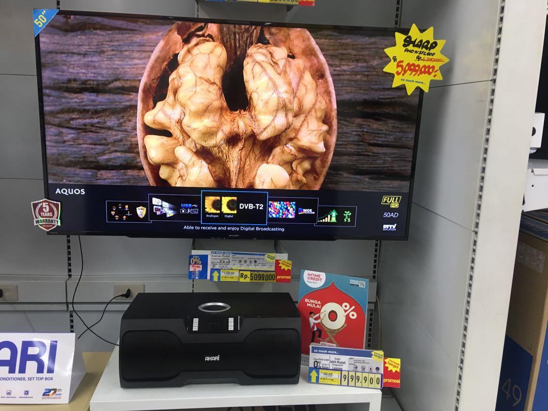 "Sharp Led Tv 50"" Promo Kredit Murah Free 2x Angsuran"