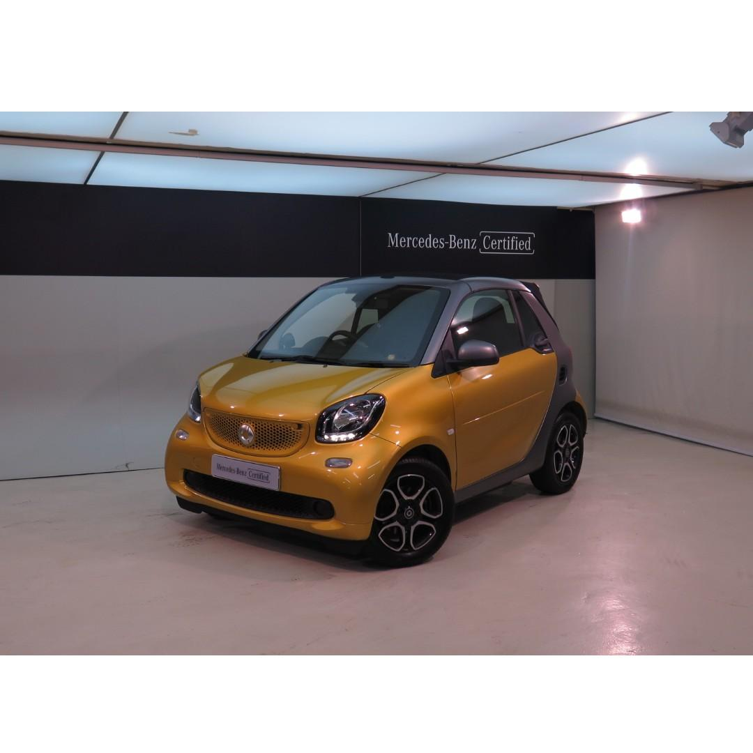 SMART fortwo Carbrio 52kW 2016/18'