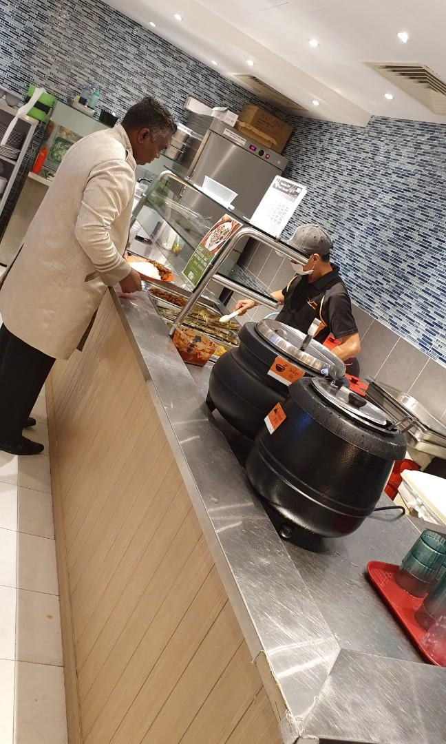 Staff Cafeteria server ( part time) 4-5 days a week