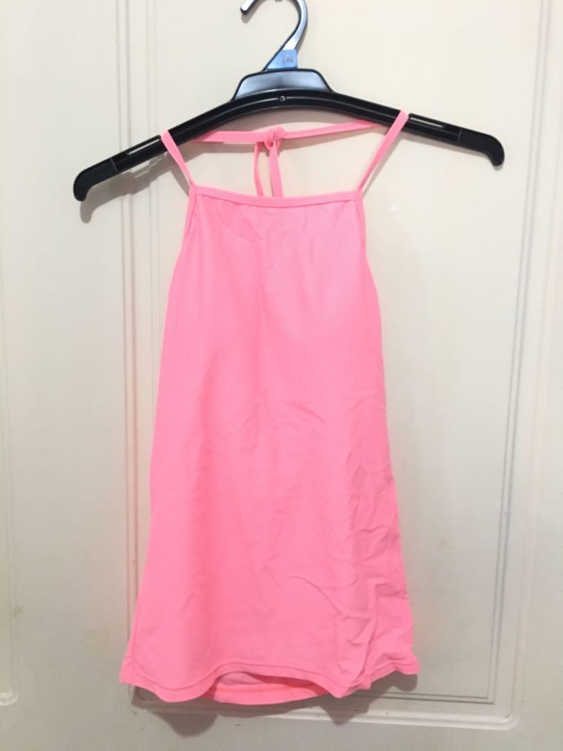 Swimsuit Tankini Top swimwear pink