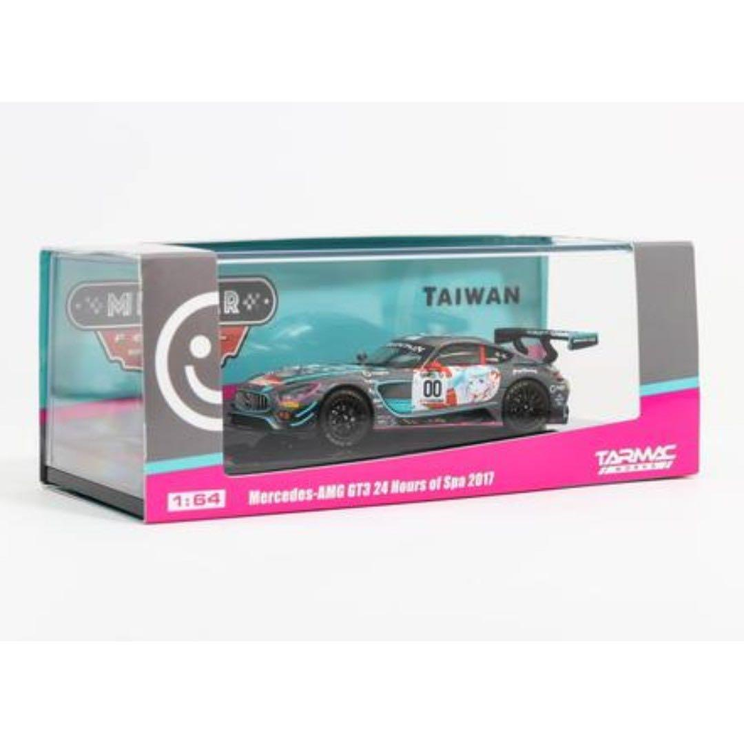 Tarmac Works 1/64 Mercedes-AMG GT3 24 Hours of Spa 2017 -Taiwan Exclusive Model
