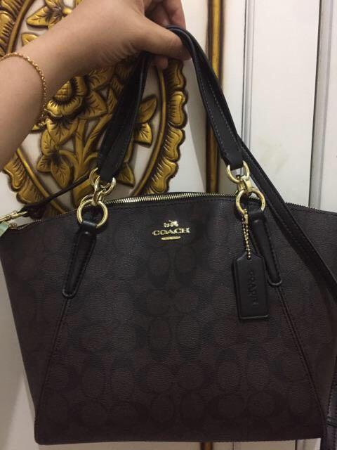 Tas Coach tote bag #mauthr original 100%