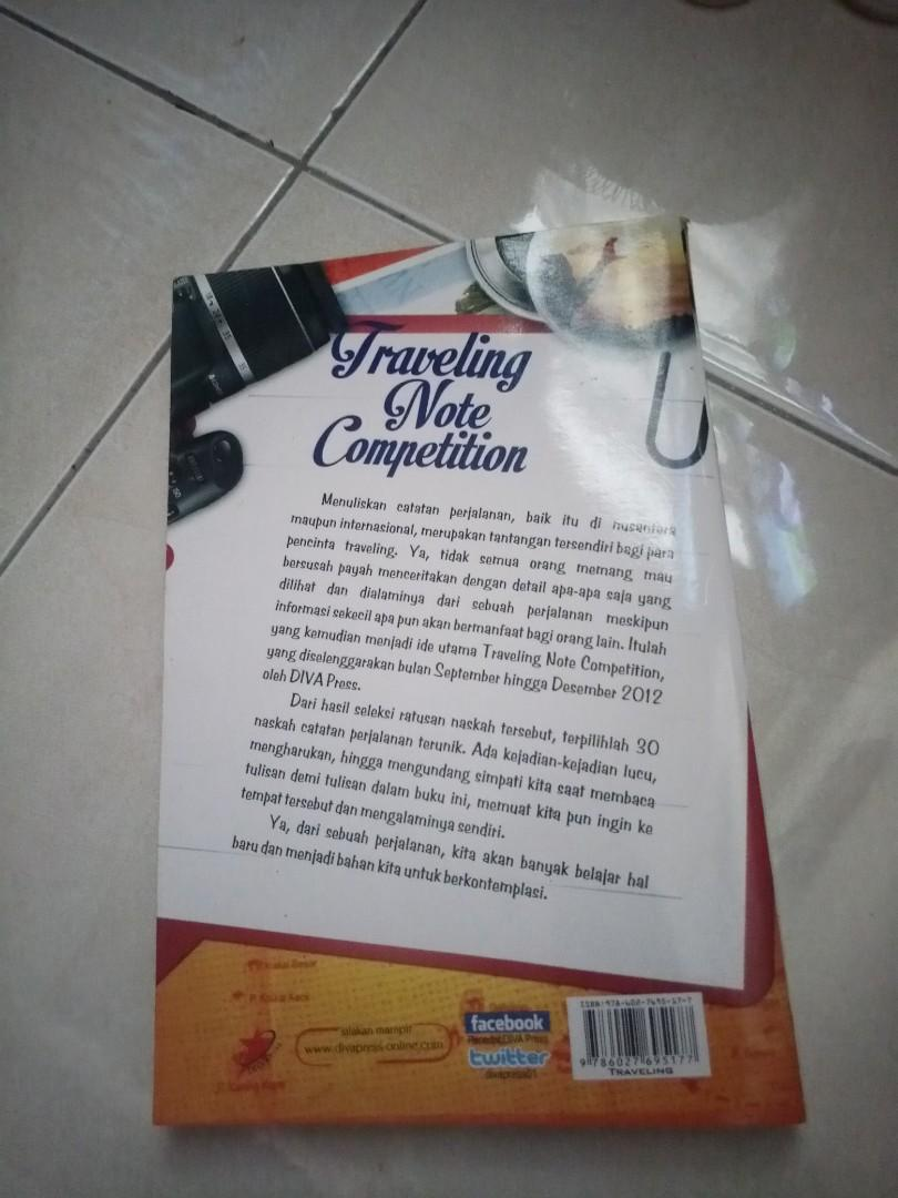 travelling note competition