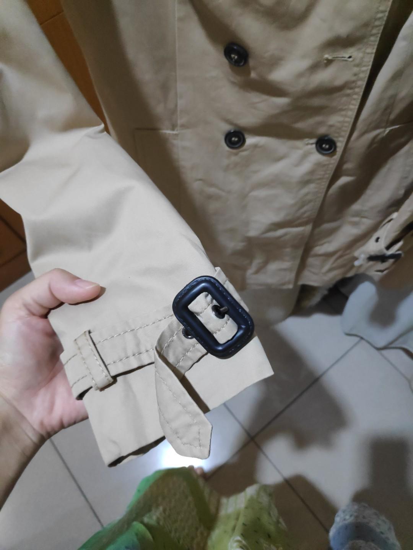 SALE!! Harga Nett Trench Coat for Fall season ZARA Khaki